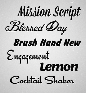 fonts-yannick